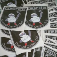 Sheild stickers